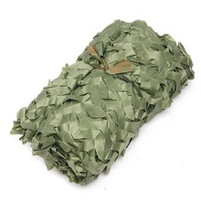 Newly Camo Net Woodland Camouflage Jungle Leaves With Hang Rope For Car Shade Cover Hunting Camping BF88 german elite m42 ss oak leaves camo hunting smock de 505134