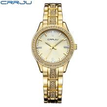 Women Fashion Crystal Quartz watch Top Brand with Japanese movements Luxury Brand Diamond Dress Ladies Watch Rose gold watch