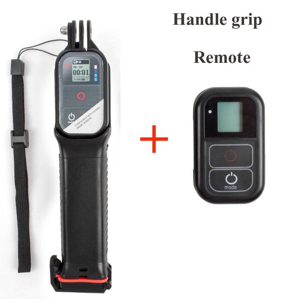 Pour Go Pro Selfie stick poignée flottante monopode + étanche WiFi télécommande intelligente pour Gopro HERO7 6 5 4 3 + Session 5 4 caméra-in Accessoires pour caméscope from Electronique    1
