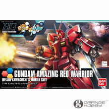 OHS Bandai HG Build Fighters 026 1/144 Gundam Amazing Red Warrior Mobile Suit Assembly Model Kits
