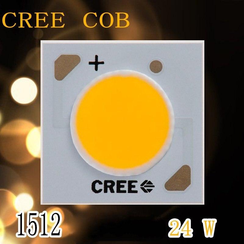 2pcs/lot US.CREE CXA 1512 Beads 24W High Power LED Chip 2700~3000K@5000~6500k Pure white/Warm White
