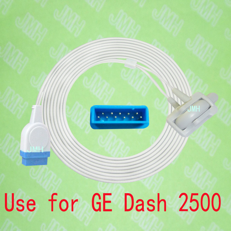 Compatible with GE Dash 2500 model Pulse Oximeter monitor , Neonate silicone wrap spo2 sensor.11PIN,with OXIMAX TECH. mindray neonate wrap spo2 sensor length 3 meter 5pin spo2 probe medical tpu cable