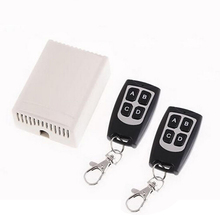 Kits Door Switch Remote Control 433Mhz High sensitivity Wireless Relay Transceiver +Receiver Practical