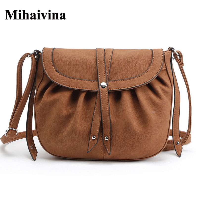 Mihaivina New Fashion Women Cross body Bags Small Vintage Messenger Bag Floral Women Handbags High Quality Women Bag Bolosa