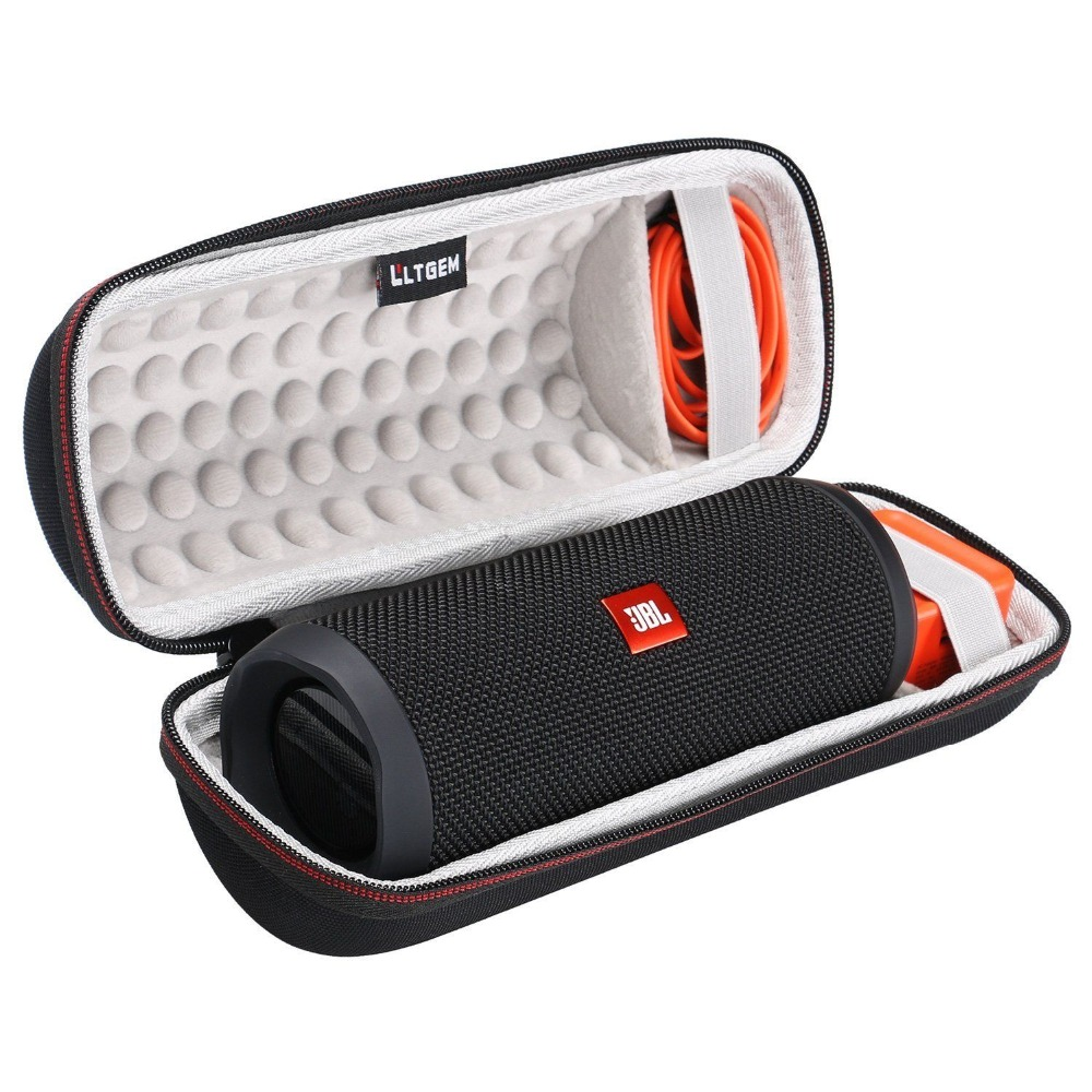 LTGEM EVA Hard Storage Travel Carrying Case For JBL Flip 3 / 4 Waterproof Portable Bluetooth Speaker