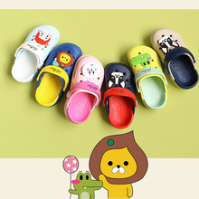2019 High Quality Summer Cartoon Garden Shoes Hollow Cute Hole Shoes Children's Beach Shoes Non-slip