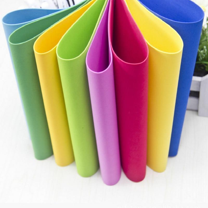 50 * 50cm 1mm storio PE putplasčio popierius rankų darbo lakštai - Menai, amatai ir siuvimas