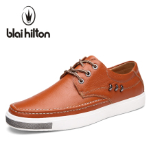 blaibilton Designer Men Casual Shoes Genuine Leather Flat Luxury Fashion Brand Male Shoes Breathable Footwear SD9923