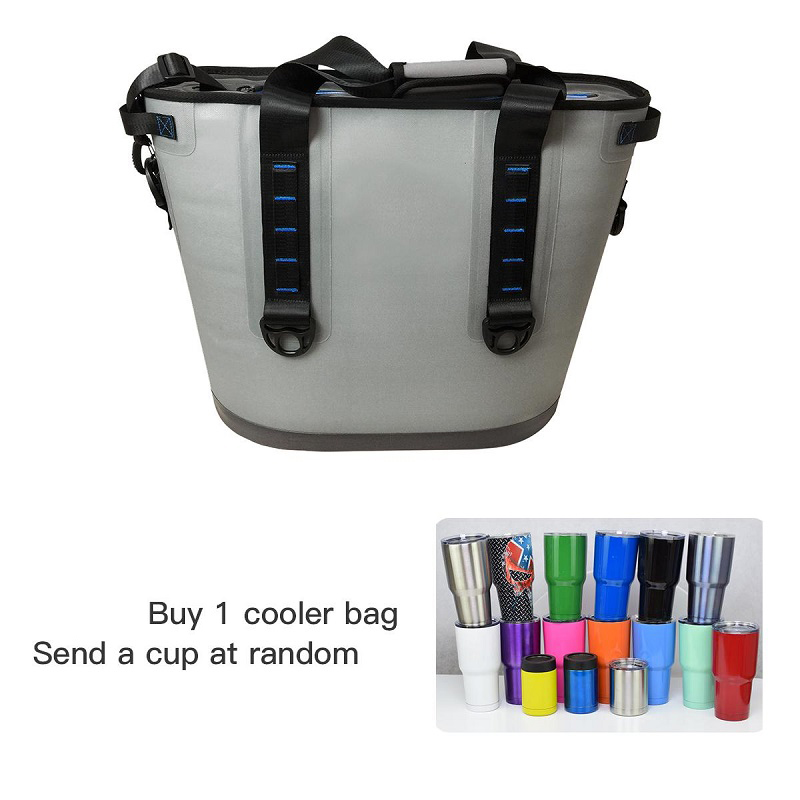 New Design of Cold Bag Waterproof picnic lunch 30 20 Cans Cans Soft Beer wine cooler bag, glasses Random send цена 2017