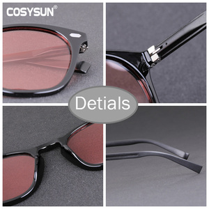 Image 5 - Brand Photochromic Sunglasses Women Luxury Brand Designer Polarized Sunglasses Chameleon Vintage Light adaptive Sunglasses Woman