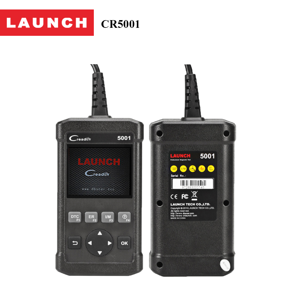 2017 the Newest Launch Code Reader CReader 5001 Auto Scanner Diagnostic Tool For  Vehciles Manufacturer Specific DTCs auto scanner code reader diagnostic tool for mercedes benz s