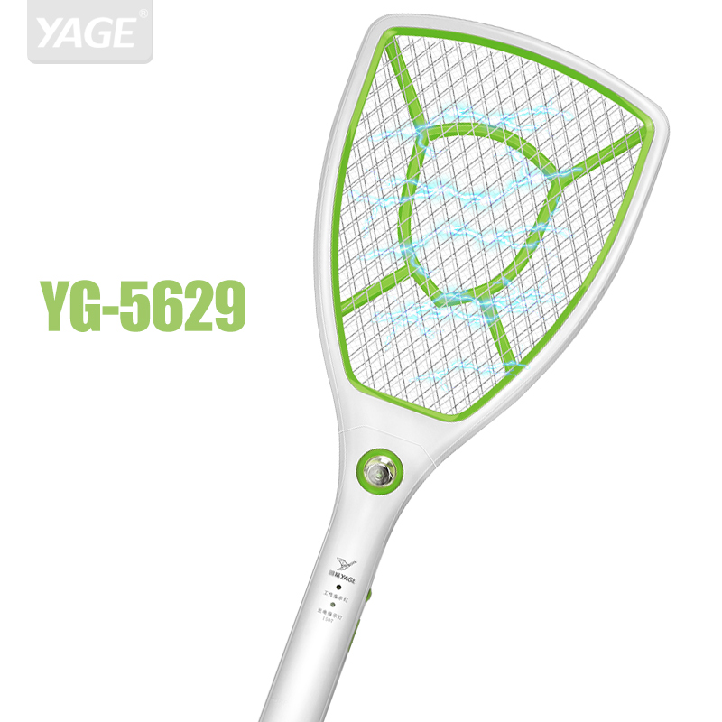 YAGE Electric Mosquito Swatter Repellent Bug Insect Repeller Reject Killers Pest Reject Racket Trap Anti Mosquito Fly Chargeable