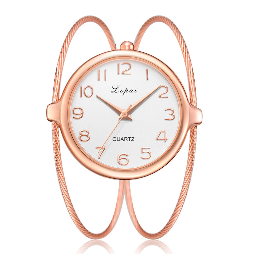 Women Fashion Luxury Watch Bracelet Quartz Dress Watches Rose Gold Small And Exquisite Lvpai Brand Ladies Casual ClockWomen Fashion Luxury Watch Bracelet Quartz Dress Watches Rose Gold Small And Exquisite Lvpai Brand Ladies Casual Clock