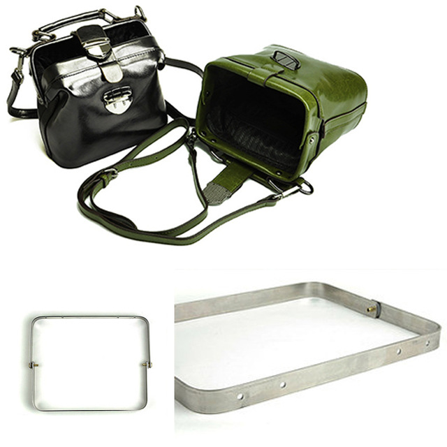 Metal Doctor Bag Frame, Internal Dulles Frame,(21cm~34.5cm,4 Sizes Of Frame),Leather Craft Tool
