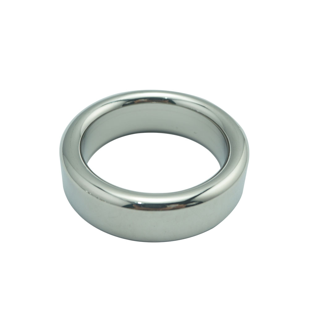 Buy Sexy Slave HEAVY DUTY Stainless Steel metal cock ring Wide Loops Male Delay Ejaculation Prevent Impotence sex toys