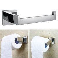Stainless Steel Toilet Paper Holder Rack Wall Mounted Towel Tissue Roll Bar Hangers For Barthroom Kitchen