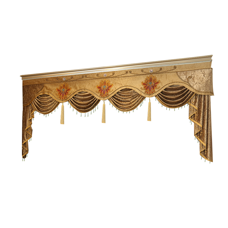 Style 9-Style 13 Pelmet Valance Europe Luxury Home Decor Valance Curtains For Living Room Window Curtains For Bedroom Curtain