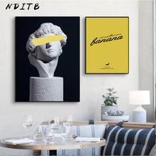 Retro Vrouw Sculptuur Renaissance Kunst Poster Abstract Canvas Wall Print Schilderij Moderne Stijl Picture Hedendaagse Room Decor(China)