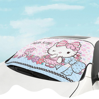 Auto Sunshade Kitty Cat Sun Shade Car Windshield Visor Covers Block Front Sunshade Auto UV Protection Curtain Car Accessories