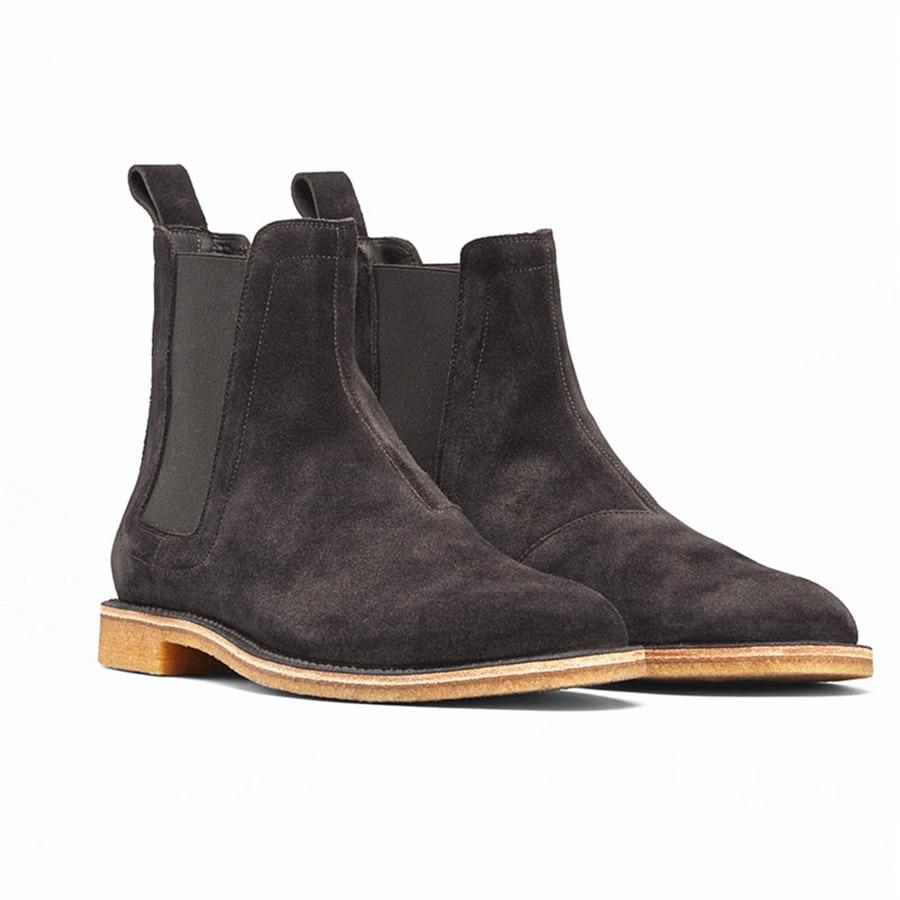 8fe7027c8c8 FR.LANCELOT Chelsea men leather boots fashion cowboy boots Europe ...