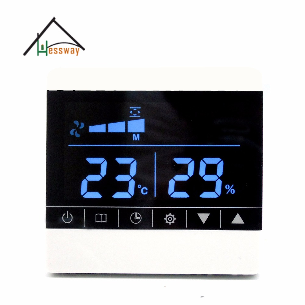 Three-speed ventilator fresh air system Temperature humidity sensor with honeywell digital indoor air quality carbon dioxide meter temperature rh humidity twa stel display 99 points made in taiwan co2 monitor