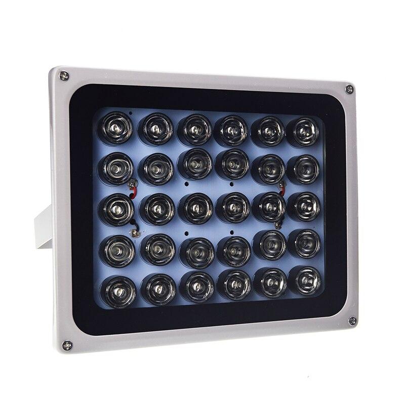DC 12 V 30 pièces infrarouge CCTV lumière de remplissage 850nm rangée de LED étanche Vision nocturne IR illuminateur lampe infrarouge pour caméra de vidéosurveillance
