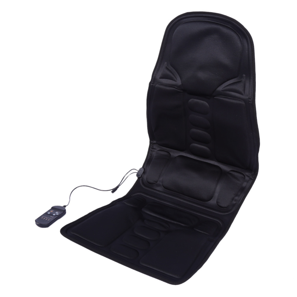 Electric Massage Chair Car Home Office Full Body Relax Back Neck Lumbar Pad  Seat Heat Vibrating Mattress Shiatsu Therapy Bed Pad In Massage U0026  Relaxation ...