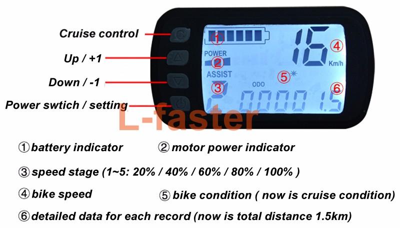 8 inch electric bike ultrathin hub motor kit -14-a