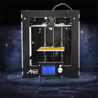 New Anet A3 3D Printer Acrylic Frame Aluminum Case 16GB TF Card Hot Bed LCD Screen