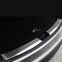 For Mazda CX 5 CX5 2013 2014 2015 2016 Stainless Steel Rear Bumper Protector Sill Trunk Trim accessories CAR styling