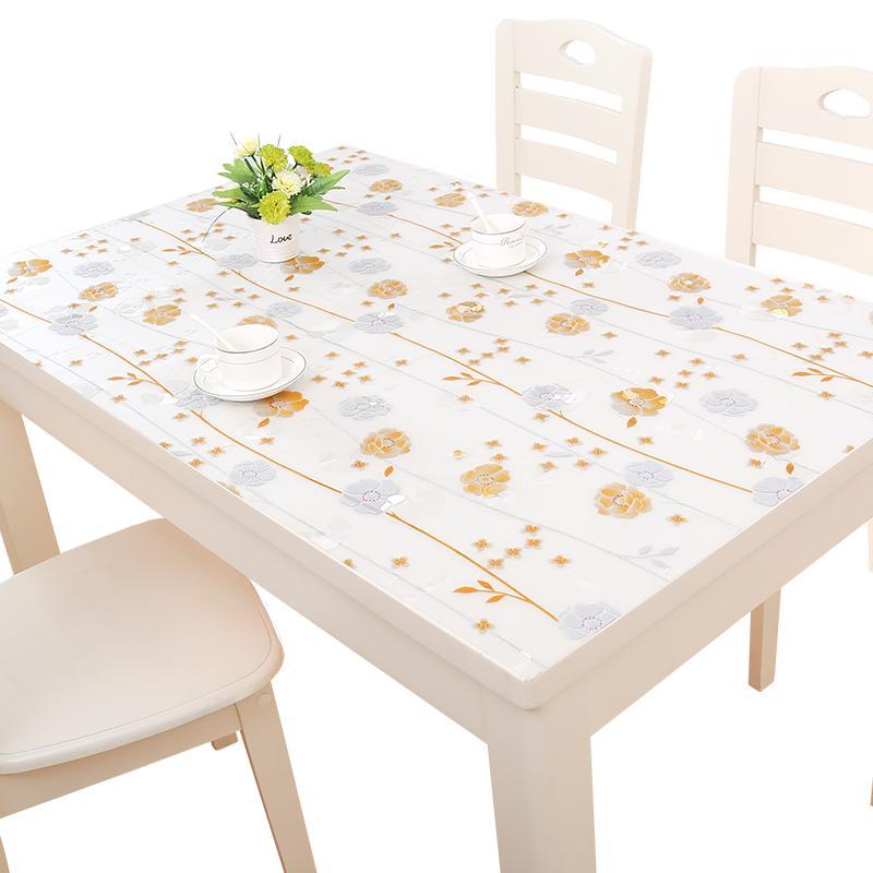Aliexpress.com : Buy Soft Glass PVC Tablecloths Waterproof