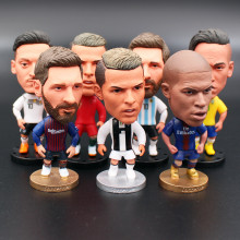 8389f01da Soccerwe 6.5 cm Height 2019 Season Football Doll Star Dybala Pogba Neymar  Jr Mbappe Messi Suarez