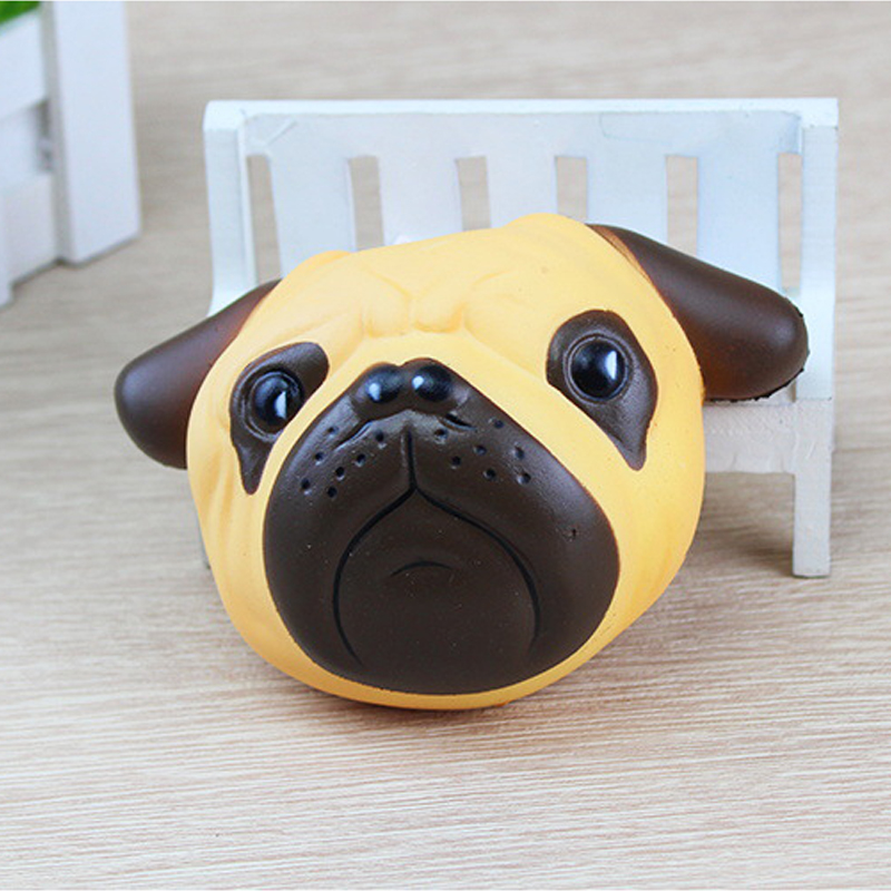 Fun anti stress ball Dog Mini Squeeze Squishy Toys Slow Rising Squeeze Stretchy Animal Healing Stress kids adults toys