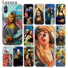 Lavaza Van gogh Starry Mona Lisa funny Spoof Art Case for Xiaomi MI 9 8 SE A2 Lite A1 pocophone f1 6 6X 5S 5X MIX 2S MAX 3 Mi9