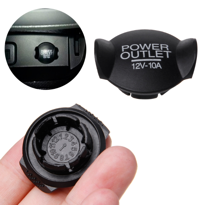 Universal Auto <font><b>Car</b></font> 21mm 22mm 12V Power Socket <font><b>Lighter</b></font> Cigarette Outlet Cover Cap For Ford /Focus /Fiesta /Mondeo drop shipping image