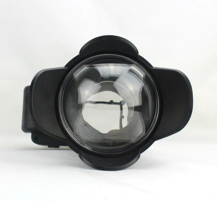 M67 67mm Fish eye Wide-Angle Lens Dome Port Underwater Camera Fisheye Wide Angle Lens Dome Port (67mm Round) free shipping camera 67mm 0 7x fisheye wide angle lens dome port 67mm round for underwater waterproof diving housing case bag