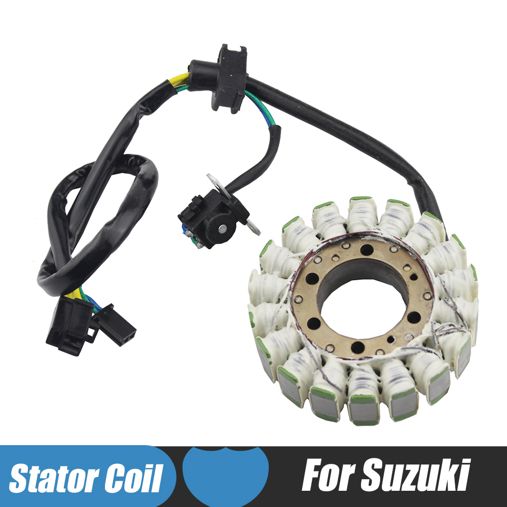 Stator Coil For Suzuki AN250 Burgman 250 2003 2004 2005 2006 AN400 Burgman 400 2003 2004 2005 2006 2007 2008 2009 2010 2011 sintered brake pad set for honda 1000 xl a4 va4 9 varadero xl1000 2004 2005 2006 2007 2008 2009 2010 2011