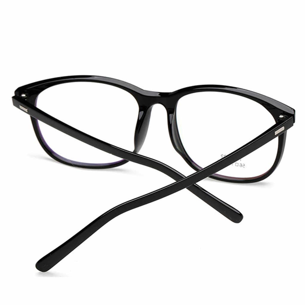 98b84accc69 ... Unisex Round Plain Glass TR Flexible Optical EyeGlasses Frames Glasses  for women and men 7 colors