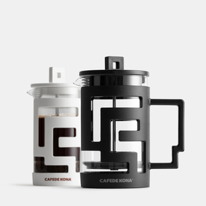 Image 2 - Cafetiere French Press Coffee Maker 350ML 800ML Percolators Coffee Maker Coffee Pot With Food Grade Glass wall Give a Spoon