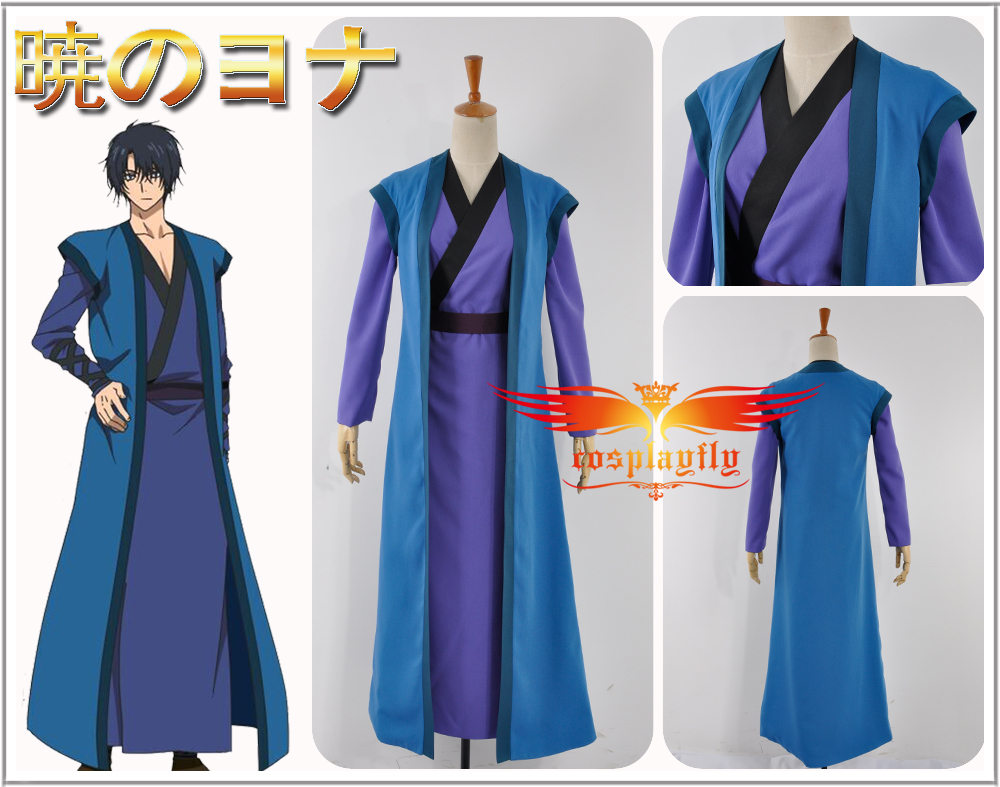 Akatsuki no Yona Son Hak Cosplay Costume Custom Made Party Kimono Fashion Outfit Clothing For Adult W0669
