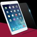 9 h para el protector de pantalla de cristal templado para apple ipad air 2 ipad air transparente a prueba de explosiones templado película protectora para ipad 5