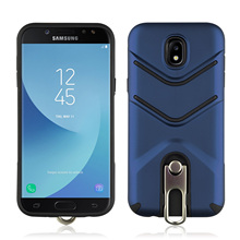 Shock Absorption TPU+PC Scrub With Rotating Bracket Mobile Phone Case For Samsung Galaxy J5 2017 Dirt Resistant