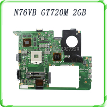 For ASUS N76VJ N76VB N76VZ N76VM N76V REV:2.0 Laptop Motherboard 2GB USB3.0 N14P-GE-OP-A2 GT720M fully tested & working perfect