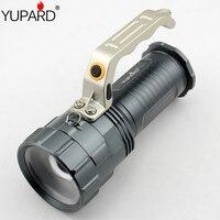 Yupard XM-L2 светодиодный фонарик T6 светодиодный масштабируемый фонарь прожектор фонарь фокусировка прожектор Перезаряжаемый 18650 портативный с...
