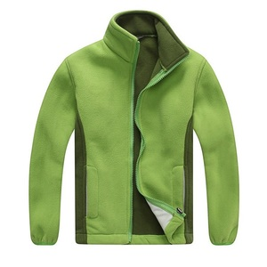 Image 4 - Windproof ילד מעיל בנים ובנות מעילי רך קוטב צמר חם ילדי הלבשה עליונה בגדי עבור 3 12 שנים