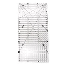 hot deal buy acrylic sew patchwork ruler tailor tools sewing machine accessories fabric sewing patchwork ruler diy manual accessories 15*30cm