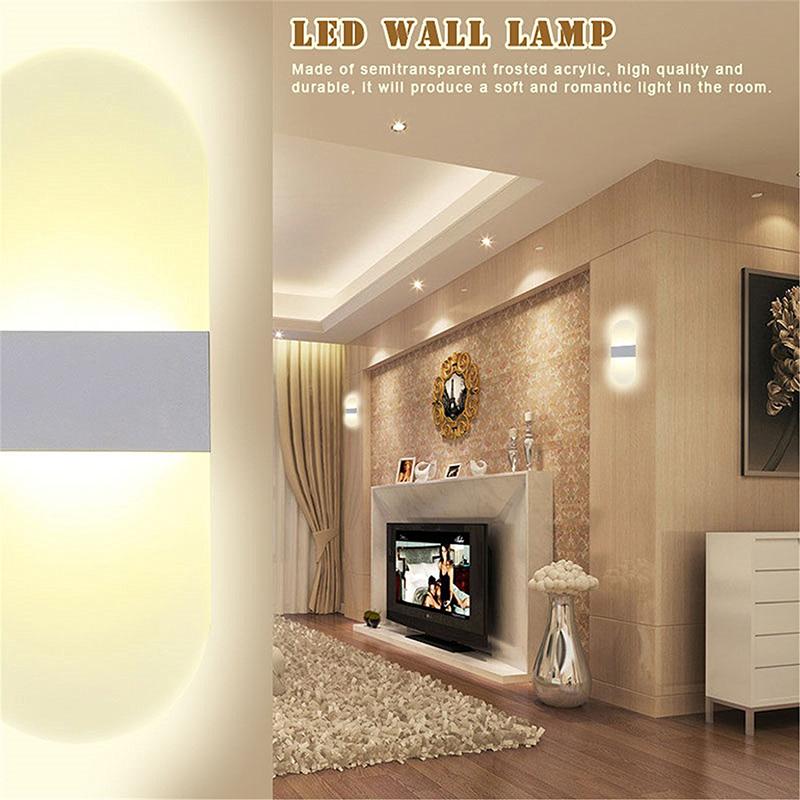 HTB1opP6QVXXXXXtaXXXq6xXFXXXO - Acrylic LED Wall lamp 3W 5W 6W Modern Bedroom Bedside decoration wall sconces light for home stairs loft LED light indoor decor