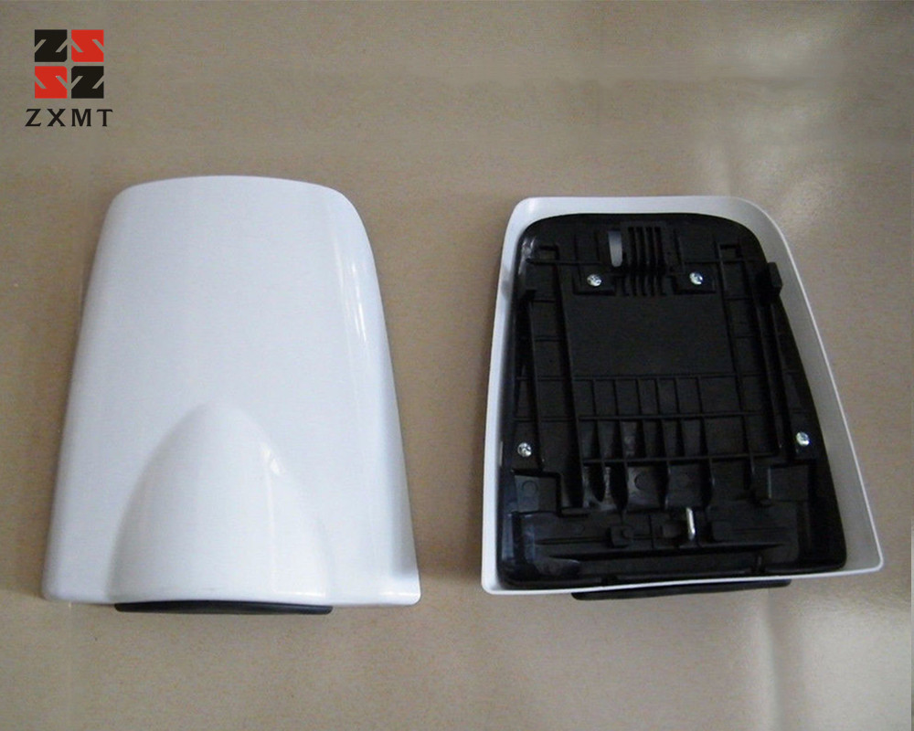 ZXMT Universal Motorcycle ABS Unpainted Passenger Rear Seat Cowl Cover Fairing Cover For Honda CBR600RR 2003-2006 04