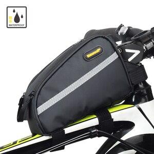 Rhinowalk водонепроницаемая велосипедная рама велосипедные сумки передняя труба сумка горный держатель для телефона bicicleta cuadro T31