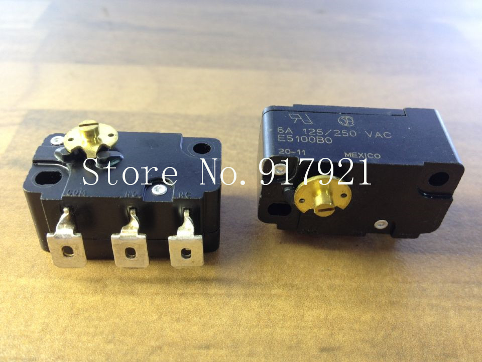 [ZOB] The German CHERRY cherry E51/F51 E5100B0 imported high sensitivity micro switch 6A250V coin --5pcs/lot